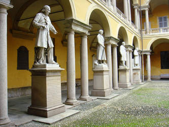 Pavia's great men by Francyalle