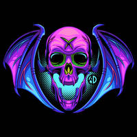 Winged Skull by ArtisticDyslexia
