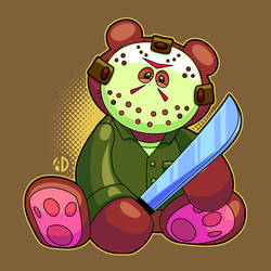 Teddy Bear Jason by ArtisticDyslexia