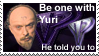 Be one with Yuri - Stamp by kjthemighty