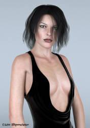 Milla Jovovich - Final Render by Slipmeister