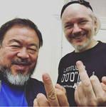 Ai Weiwei and julian by lisa-im-laerm