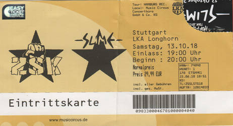 slime concert ticket by lisa-im-laerm