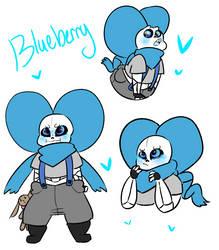Blueberry by KiddieEevee
