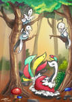 The Berbs of Pokemon Uranium by rosedragoness