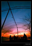 Sunset in Cayirhan by denizt