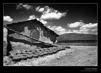 a village scene by denizt