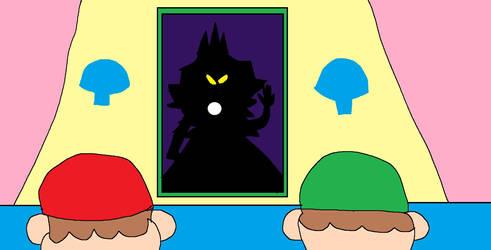 Oppressive Mirror (Mario Bros) by MrDilly2011