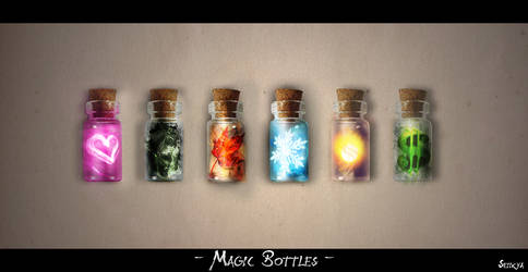 Magic Bottles by Seiikya