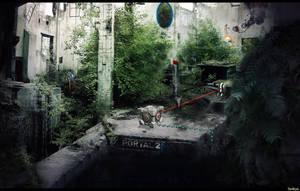 Portal 2 - Wallpaper by Seiikya