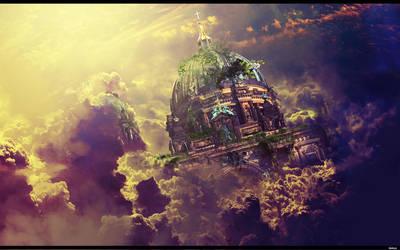 Skyland ruins by Seiikya