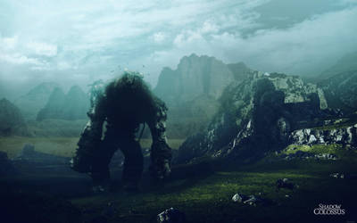 Shadow of the Colossus Wallpaper by Seiikya