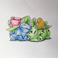 Lovely Greens by Seranalu