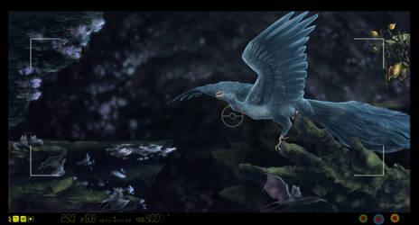 Pokemon snap - Blue Echo by Seranalu