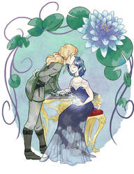 Silver Apples of the Moon - Ami and Zoicite by Passion-Assassin