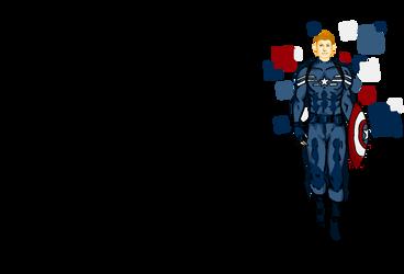 Steve Rogers/Captain America doodles by failingwings