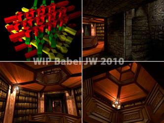 Babel Library by LittleBlueMonster