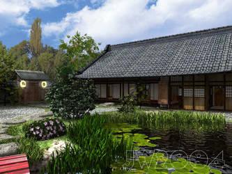 Japanese Garden by LittleBlueMonster