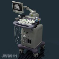 Ultrasound final by LittleBlueMonster