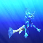 Mermaid by LittleBlueMonster