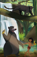 Commission: Jungle book by ExtremePenguin