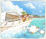 Ocean Breeze by liliyy