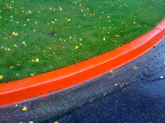 Colors in the Parking Lot by Eptin