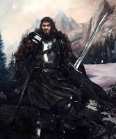 Brandon Stark - The Wild Wolf. by Mike-Hallstein