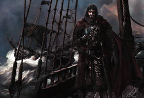 King Euron Greyjoy by Mike-Hallstein