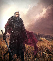 Daemon I Blackfyre - The Black Dragon by Mike-Hallstein