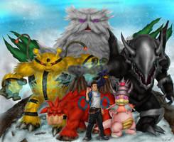 My Pokemon Team by Tycony23