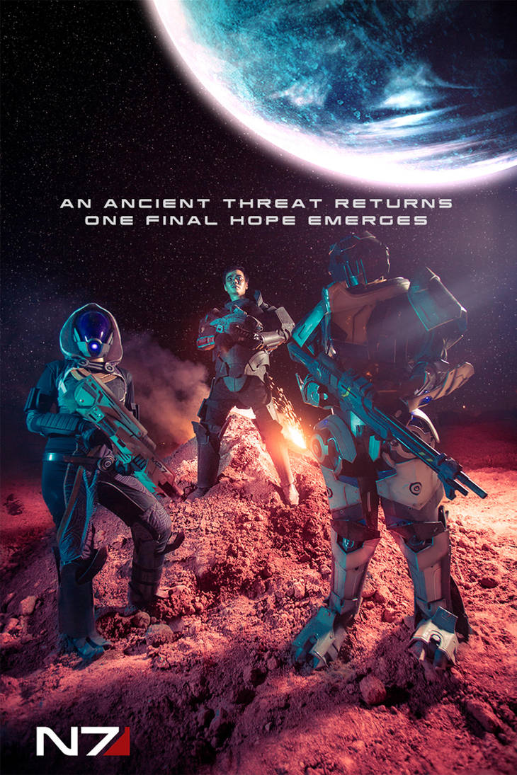 Mass Effect - Movie Poster by rescend