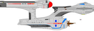 Star Trek XI Enterprise Redo by JohnnyMuffintop