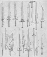 Swords by Ascher-Malachi
