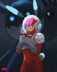 Bunny Bot by rougecrown