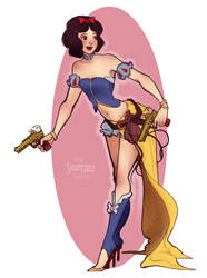 Gunner Snow White by Skirtzzz