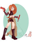 Gunner Kim Possible by Skirtzzz