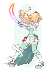 Warrior Rosalina by Skirtzzz
