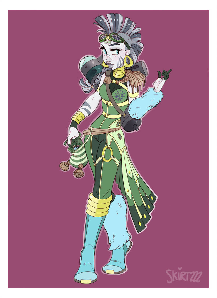 Alchemist Zecora by Skirtzzz