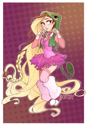 Raver Rapunzel by Skirtzzz