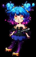 Nebby the Gijinka by Comickeylee
