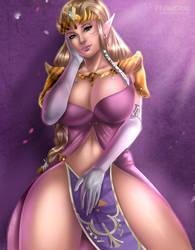 Princess Zelda by Flowerxl