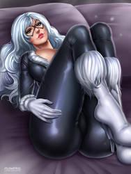 Black Cat by Flowerxl