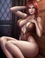Triss Merigold by Flowerxl
