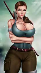 Lara Croft by Flowerxl