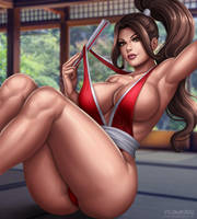 Mai Shiranui by Flowerxl