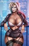 Harley Quinn by Flowerxl