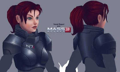Female Shepard Preview by Soilworker06