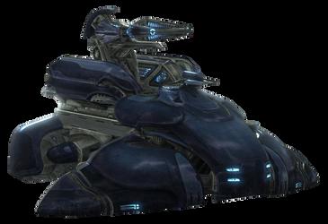 Halo Reach Wraith Mortar Tank by ToraiinXamikaze