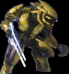 Halo 3 Sangheili Zealot 01 by ToraiinXamikaze